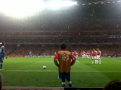 Arsenal VS Olympiakos Game 28 September 2011