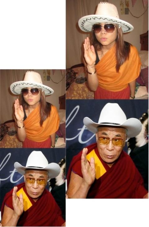 dalai lama costume