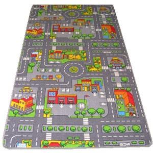 road map play mat