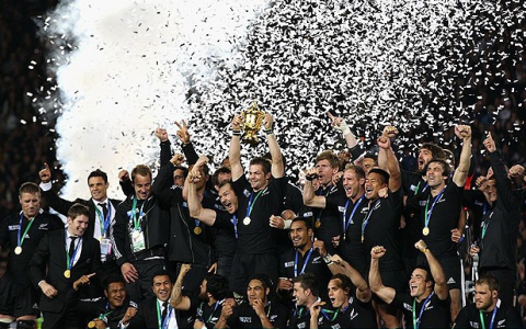 rugby world cup 2011 final - new zealand victory