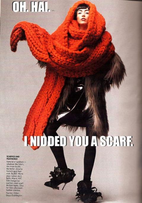 oversized scarf skanket
