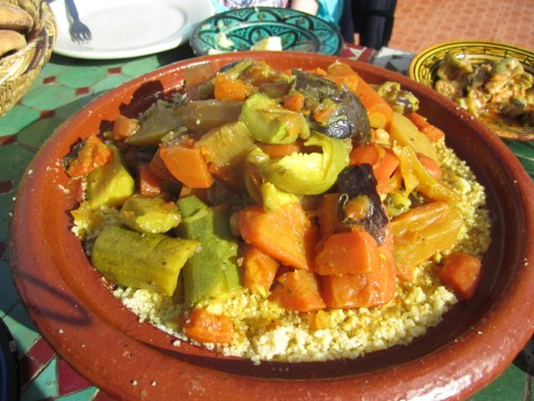 vegetable cous cous marrakech