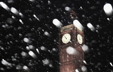 london snow 2011
