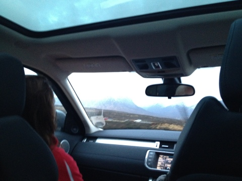driving to glencoe