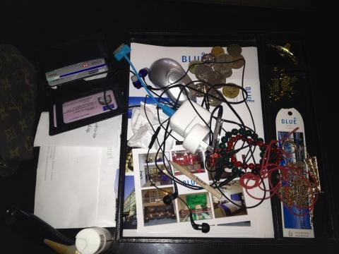 krissa's junk tray