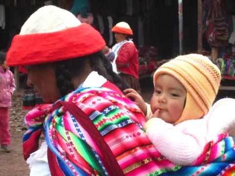 cute peruvian baby