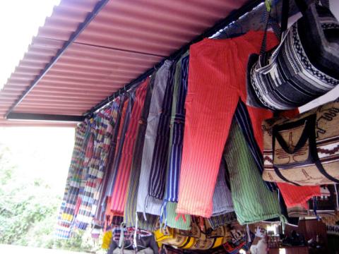 peruvian pants