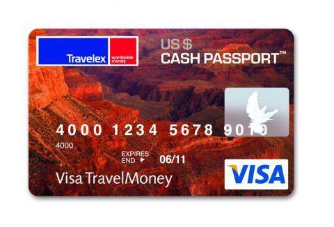 travelex card
