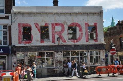 Byron burgers, Islington