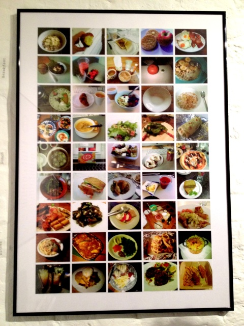 on plate, still hungry exhibition