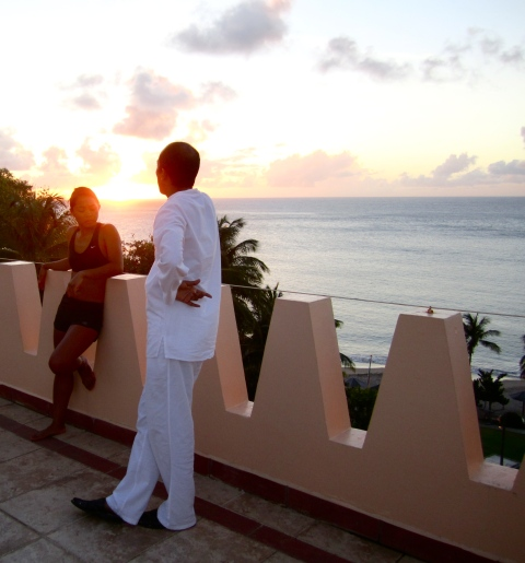 krissa and abhishek, st lucia 2011
