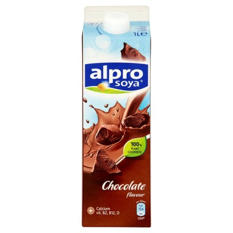 alpro chocolate soya milk