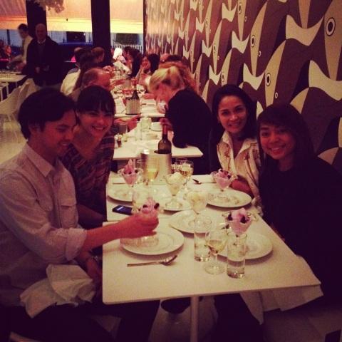 Ali, Maria, Tita Karina and Krissa