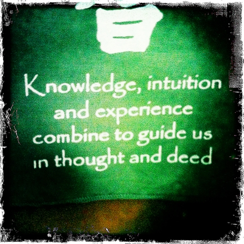 knowledge intuition wisdom