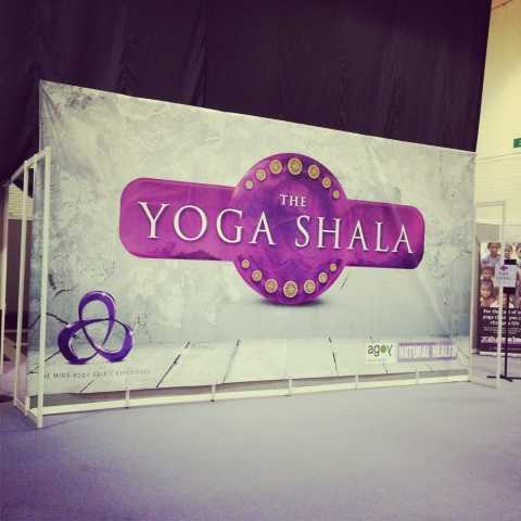 yoga shala, mind body spirit festival 2012