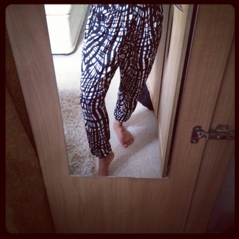 H&M harem pants