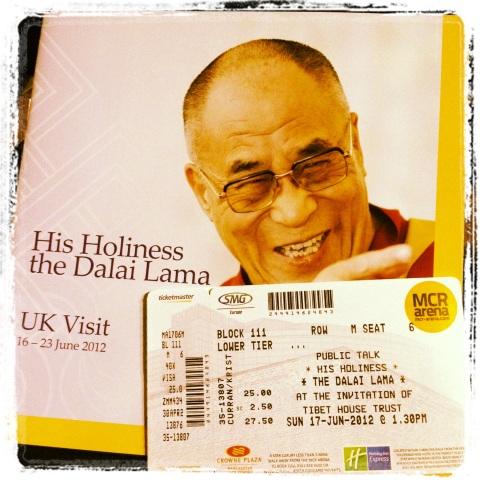 dalai lama uk visit 2012