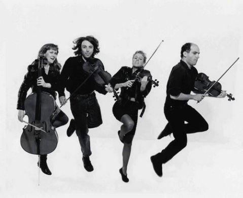 the violin string quartet